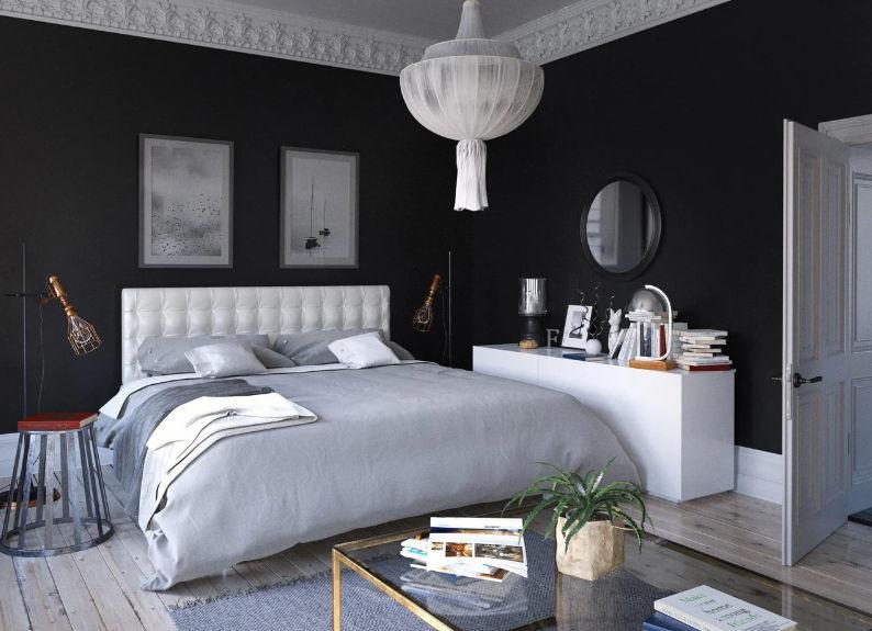 Кровать Глория металлическая с мягким изголовьем