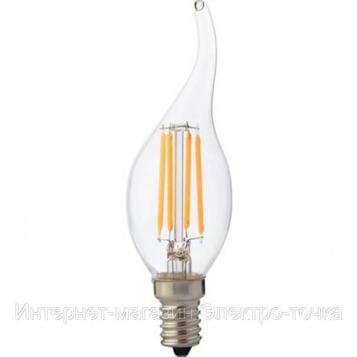 Светодиодная лампа FILAMENT FLAME-6 6W Е14