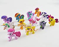 Набор фигурок Май Литл Пони цена за 12 шт My Little Pony 6-7 СМ