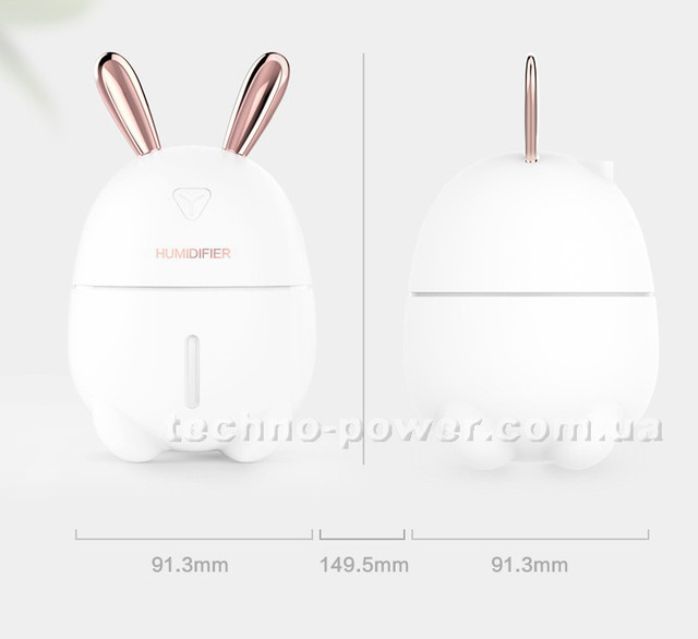 Увлажнитель воздуха 200 мл  Кролик. Rabbit humidifier Y 105