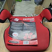 Автокресло-бустер детское Milex Coti для детей 15-36 кг красный FP-C30004, бустер в автомобиль