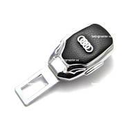 Переходник ремня безопасности с логотипом Audi (1шт)