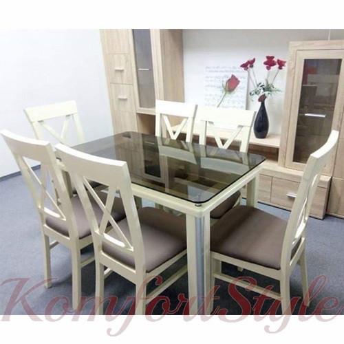"""Стол обеденный на деревянных ножках """"Гелиос 2"""""""