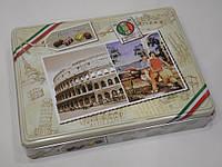 Набор шоколадных конфет Maitre Truffout Italy в металлической коробке 180 г