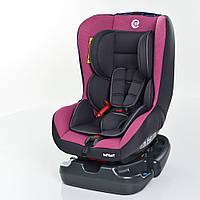 Автокресло ME 1010 INFANT Pink Shadow детское,группа 0+/1 (до 18кг),cер-розов