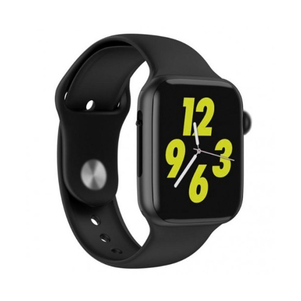 Смарт-часы W34 Smart Watch сенсорные черный оригинал (GS00W34B)