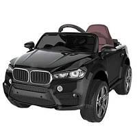 Електромобіль (Электромобиль) FL1538 (T-7830) EVA BLACK (1шт) джип на Bluetooth 2.4G Р/К 2*6V4,5AH мотор 2*25W