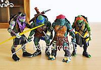 Набор Черепашки Ниндзя 4 шт 13 см Ninja Turtles Подвижные руки, ноги , голова + Оружие Отличное Качество !