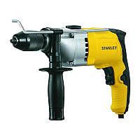 Дрель электрическая ударная Stanley 800 Вт 13 мм патрон ключевой STDH8013