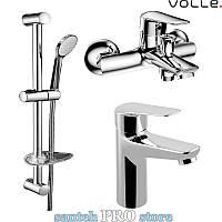 Набор смесителей для ванной комнаты VOLLE серии NEMO