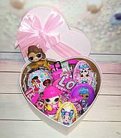 Вкусный подарок с подвижной куклой Lol Лол и одеждой аксессуары для лол