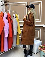 """Пальто женское модное, размеры 42-46 (7цв) """"DARIYA"""" купить недорого от прямого поставщика"""