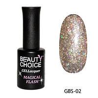 Гель-лак BEAUTY CHOICE «Diamond» GBS-33, 10ml GBS-02