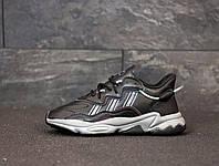Мужские кроссовки Adidas Ozweego черные 41