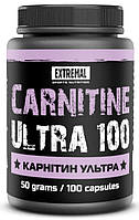Жиросжигатель Карнитин ультра Extremal 100 кап. по 500 мг