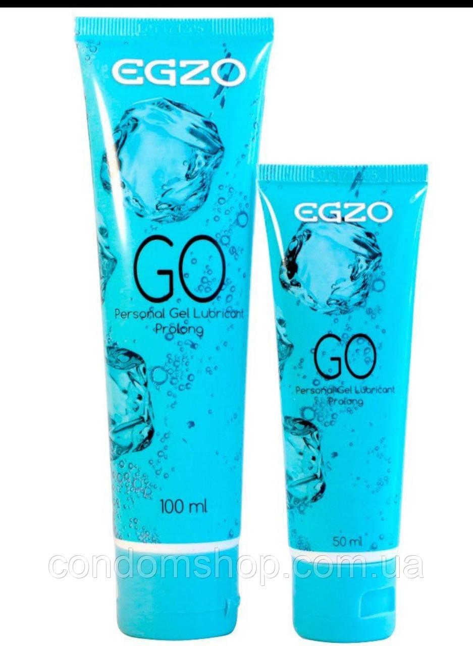 Гель-смазка лубрикант  Egzo  GO ( LONG LOVE )100 ml ,Великобритания.