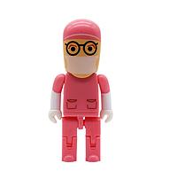 USB флешка Хирург на 64гб, розовый