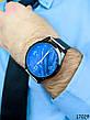 Часы мужские в стиле Louis Vuitton. Мужские наручные часы черные. Часы с черным циферблатом Годинник чоловічий, фото 5