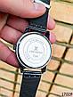 Часы мужские в стиле Louis Vuitton. Мужские наручные часы черные. Часы с черным циферблатом Годинник чоловічий, фото 4