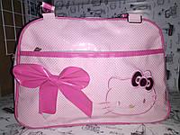 Уценка ( недостатки  видно на фото ) Сумка  детская , розовая Hello Kitty    к.10283