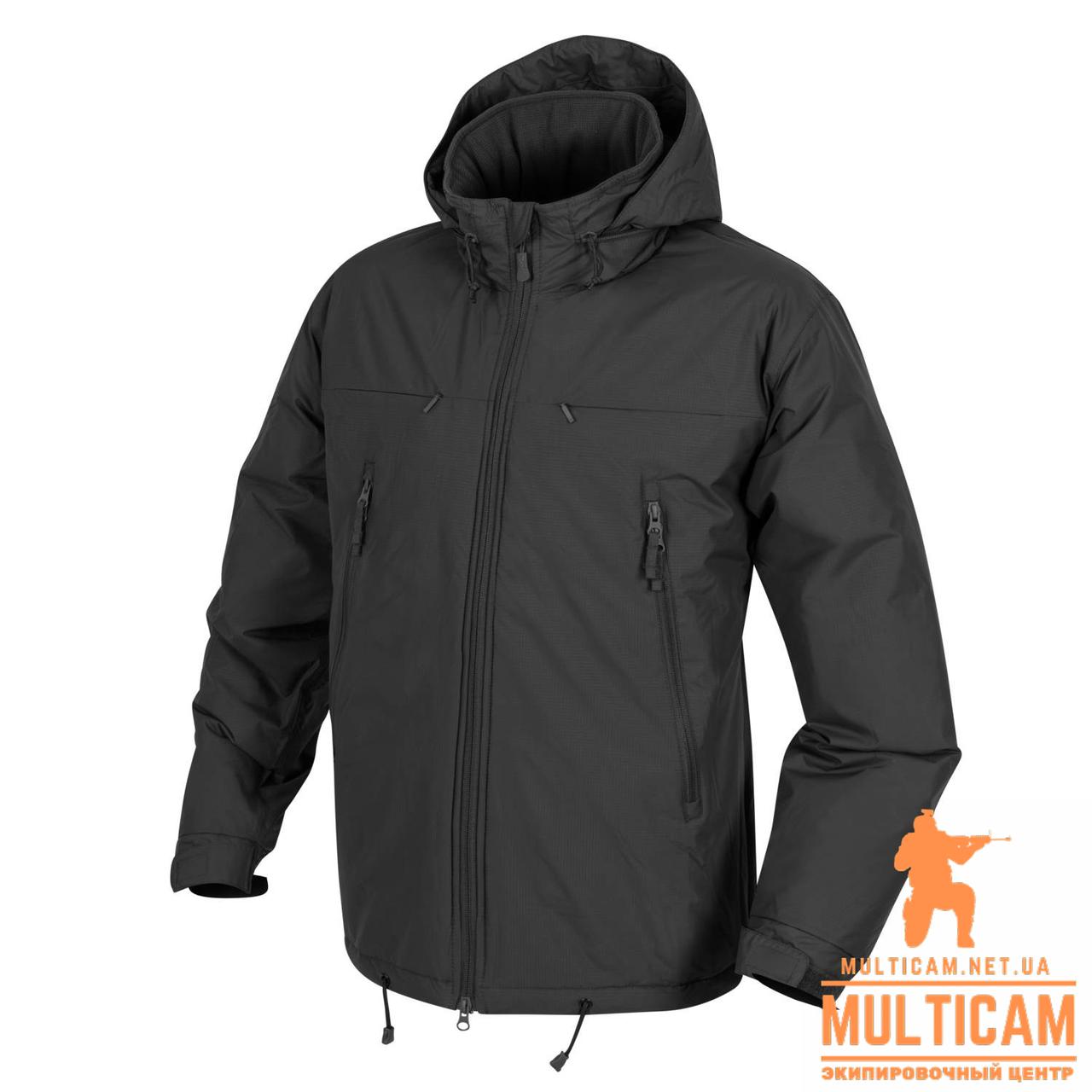 Куртка зимняя Helikon-Tex® HUSKY  Winter Jacket - Climashield® Apex 100g - Черная