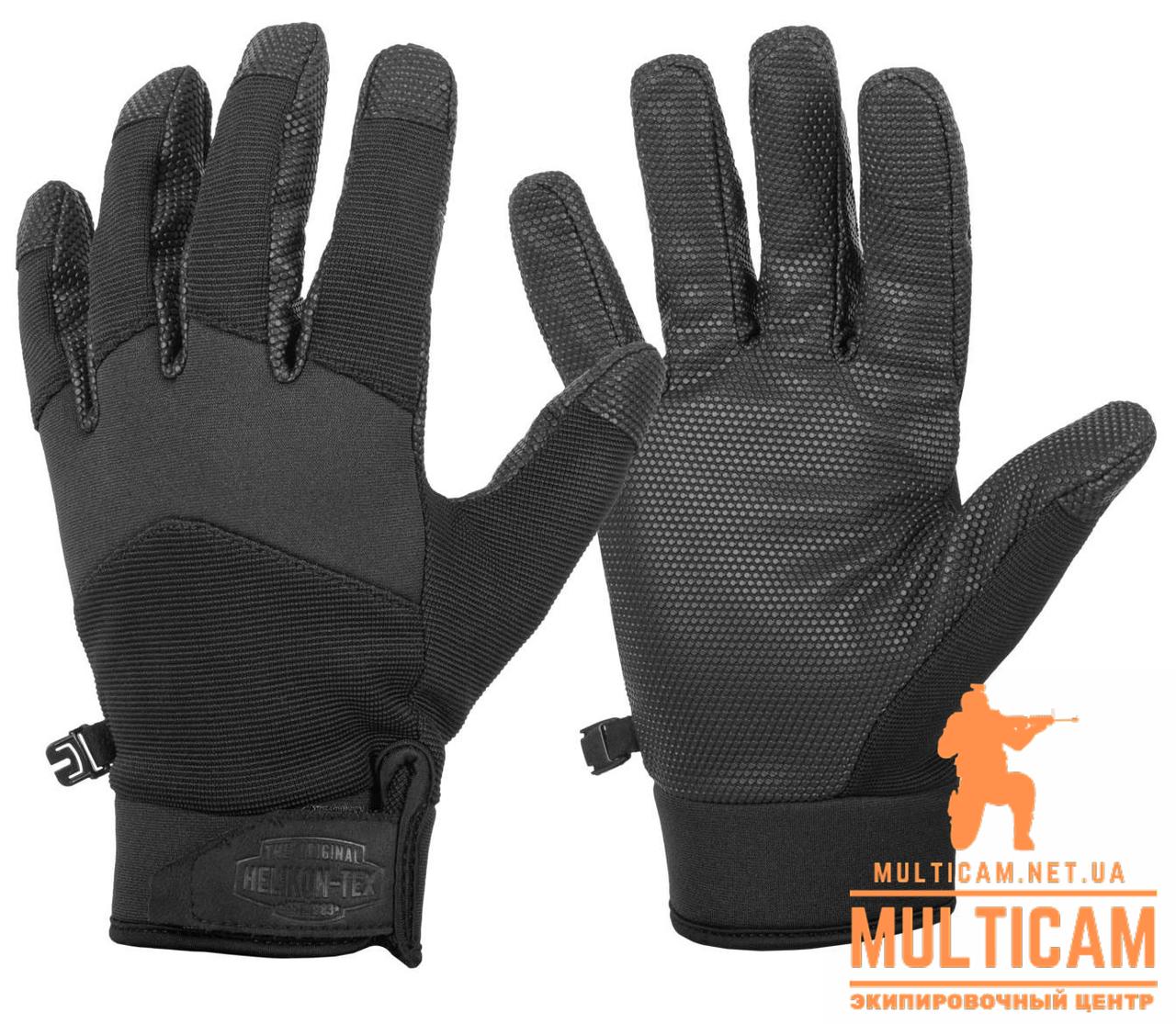 Перчатки зимние Helikon-Tex® Impact Duty Winter Mk2 Gloves - Черные