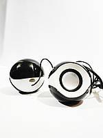 Колонки USB 2.0 G109 круглая ZH, акустическая система, музыкальные колонки для компьютера