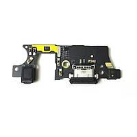 Плата нижня (плата зарядки) Huawei Honor Mate 9 Pro з роз'ємом зарядки і компонентами