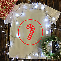 Мужская футболка с принтом - Леденец