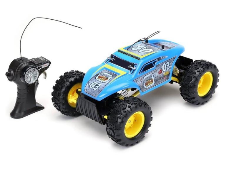 Maisto вездеход на радиоуправлении джип внедорожник голубой RC Rock Crawler Extreme Blue