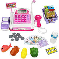 Click N' Play Детская электронная касса со сканером Pretend Play Electronic Calculator Cash Register CNP0298, фото 1