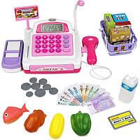 Click N' Play Детская электронная касса со сканером Pretend Play Electronic Calculator Cash Register CNP0298
