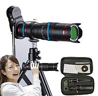 Монокуляр Premium Telephoto Lens 4K HD 22x с креплением для телефона, треногой и футляр для хранения