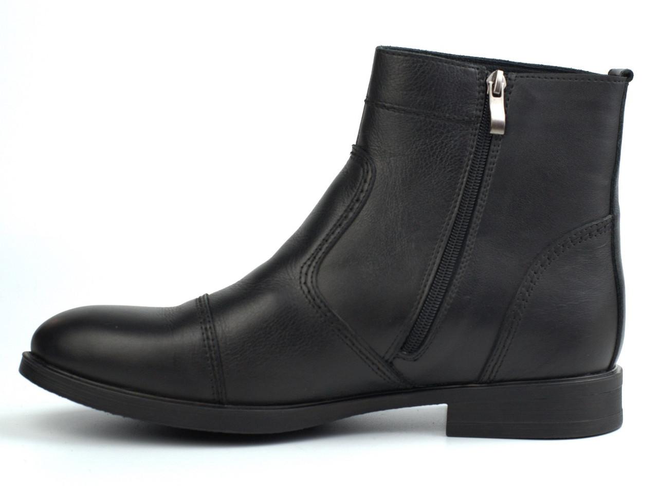 Акція Останні 43 і 45 розмір челсі чоловічі зимові черевики шкіряні класичні