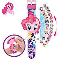 Проекционные детские часы Литл Пони My Little Pony  - 24 вида героев .Projector Watch. Отличный Подарок !
