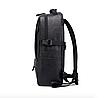 Рюкзак городской DENGSIYA черный, фото 4