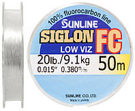 Флюорокарбон Sunline SIG-FC 50m 0.38mm 9.1kg поводковый