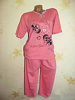 "Пижама женская с бриджами ""K.S.M"" Батал, фото 1"