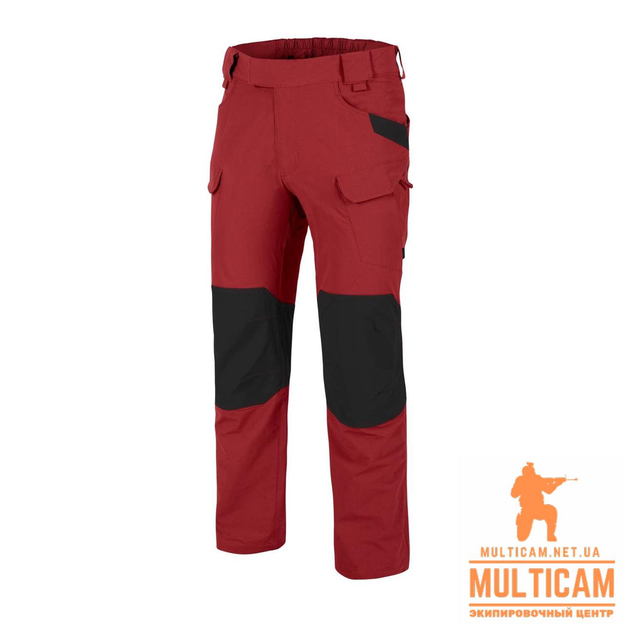 Брюки Helikon-Tex® OTP (Outdoor Pants)® - VersaStretch® - Crimson Sky/Black