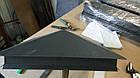 Колпак на забор коричневый мат.0.45 (с доставкой по Украине), фото 6