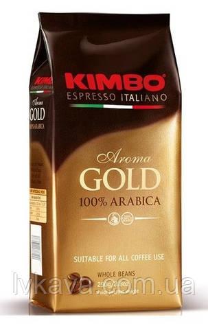 Кофе в зернах  KImbo Aroma Gold 100 % arabica  ,  1 кг, фото 2