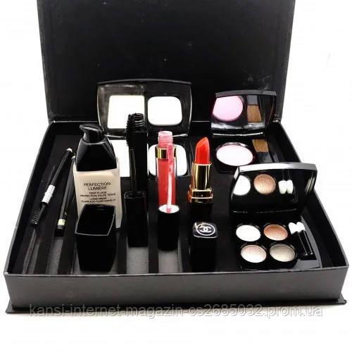 Набір декоративної косметики Chanel 9 в 1, подарунковий набір Шанель