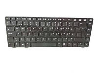 800-142 Клавиатура HP EliteBook 8460P (Black, Black Frame ). Оригинальная P/N: