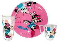Набор детской посуды 3пр. Disney Party Minnie 4877l