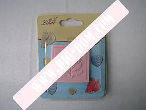Штамп конд.силиконовый 5,3см Цветок VT6-16880