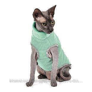 Свитер Pet Fashion Брюс мятный для кота