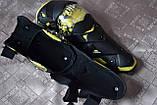 Наколенники шарнирные, защита колен и голени GHOST RACING (желтая вставка). Универсальный размер., фото 4