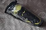 Наколенники шарнирные, защита колен и голени GHOST RACING (желтая вставка). Универсальный размер., фото 5