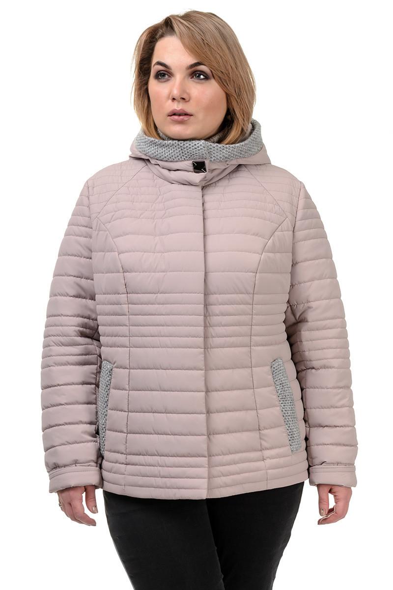 Женская демисезонная куртка  «Дора», р-ры 48-54