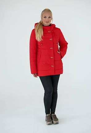 Женская демисезонная  куртка «Кристина» , р-ры 50-60, фото 2
